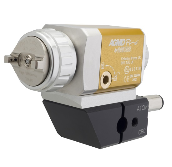 AGMD Pro Automatik-Spritzpistole mit Kunststoffnadel