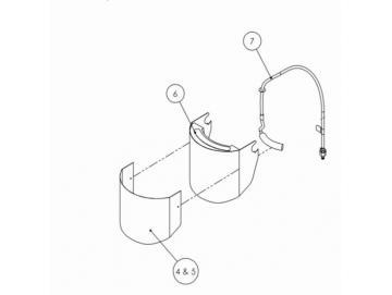 ATEMLUFTROHR-KIT für PROV-650 Maske