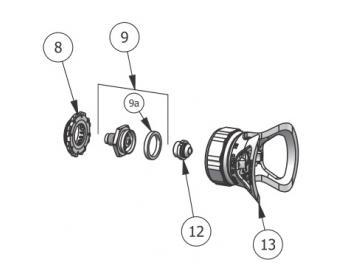 Dichtung (10 Stück) für AA1600 und AA4400