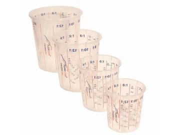 FLEXI-CUP Mischbecher mit Messskala und Mischungsverhältnissen für FLEXI-CUP System