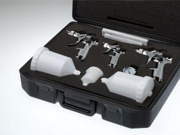 Lackierpistolen Koffer Set